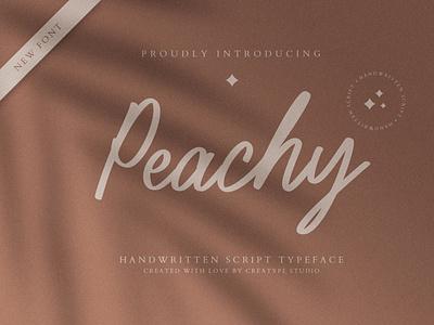 Peachy Handwritten Script signature
