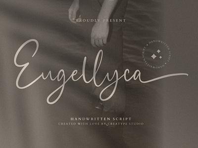 Eugellyca Handwritten Script signature