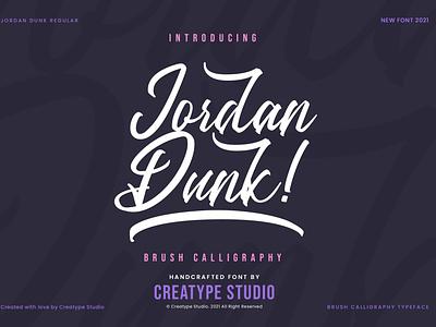 Jordan Dunk Brush Calligraphy event