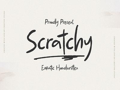 Scratchy Erratic Handwritten retro