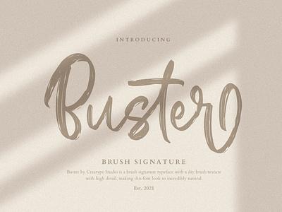 Buster Brush Signature tshirt