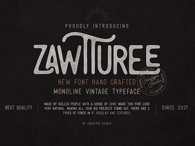 Zawturee Monoline Vintage brush