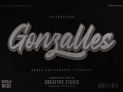 Gonzalles Brush Calligraphy tshirt