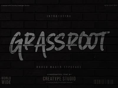 Grassroot Brush Maker sans-serif