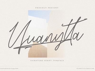 Yuanytta Signature Script signature