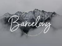 Barcelony Signature - 100% FREE FONT