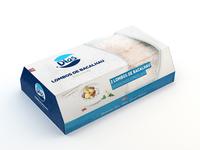 Freeze codfish packaging