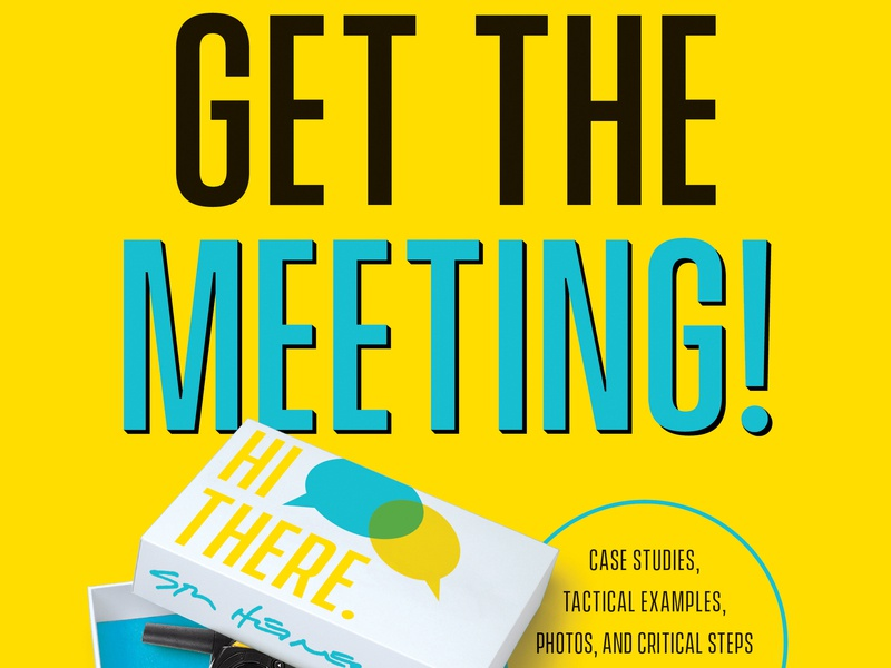 Get The Meeting benbella publishing cover design book cover book design