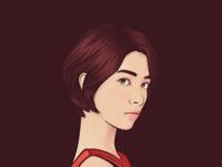 Short-Haired Girl