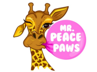Logo for Mr. Peace Paws