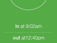 Time Clock iOS 7