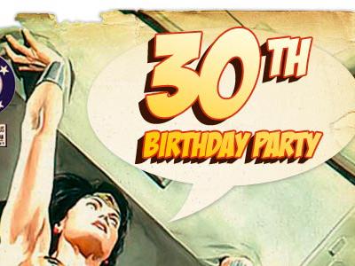 30th Birthday Party wonder woman 30th birthday party