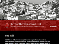 Live at the Top of Nob Hill