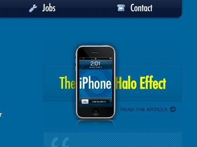 Halo iphone web app