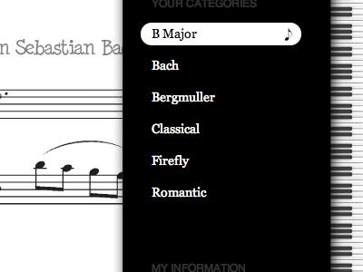 Your Music music keyboard piano sheet