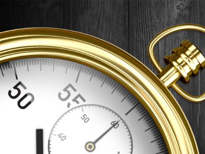 Time Clock iOS app icon