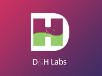 D&H labs logo / icon