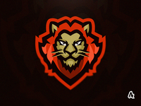 Lion Mascot Logo Collaboration with Vortek