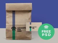 Paper Bag Mock Up