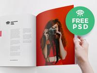 Magazine Mockups For Free