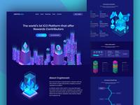 Cryptocash Landing Page