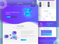 Cryptoion Landing Page