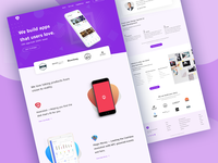 App Landing Page II