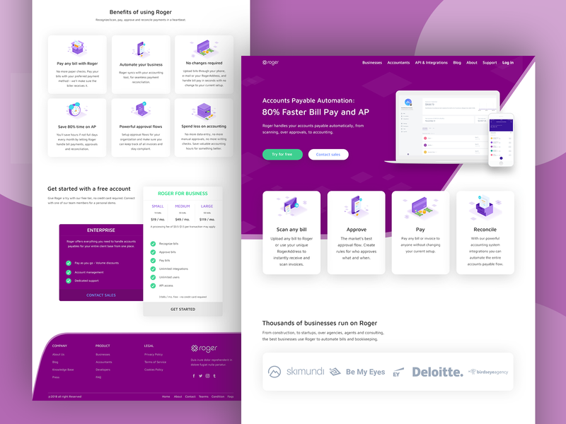 Bill Pay Landing Page web ui landing page branding ui user interface user experience ux design design ui uidesign design app design app landing branding design branding agency app landing template app landing page app apps application app concept app