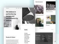 Creative Studio Landing Page