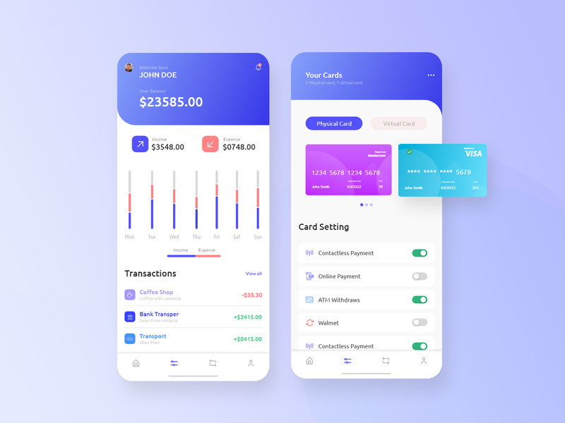 Payment Wallet App mobile apps mobile app design mobile ui kit mobile uiux mobile ui payment app payment mobile design mobile app app app design ios ios app design ui ui user interface wallet