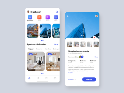 Apartment Booking App