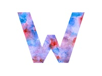 W is for Watercolour