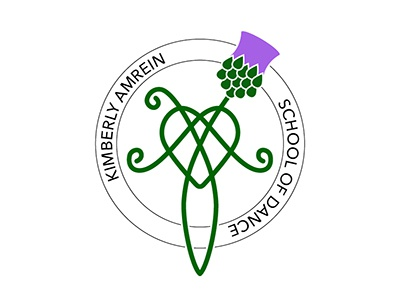 Logo Kimberly Amrein School Of Dance By Louise Beryl Dribbble