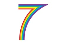 7 is for Rainbow