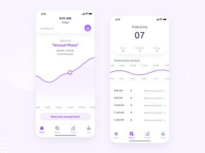 Health App interface clean ios app mobile app design health app health ux webdesign app ui mobile