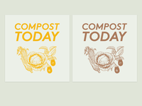 Compost Today spice ink prints