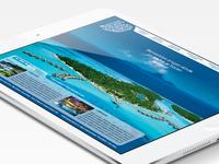 Imagina Polinesia  - Tranvel Agency Website