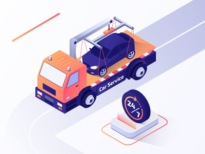 Car Service isometric illustration trend service web illustration services service app isometric illustration isometric art car app 3d ux ui isometric design isometric flat vector design illustration