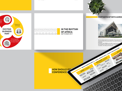 Presentation on a dealer conference in Africa for Oasis - 2017 african design conference minimalism minimalist yellow powerpoint templates powerpoint presentation ppt template ppt powerpoint template power point business pattern illustration branding africa presentation template presentation design presentation
