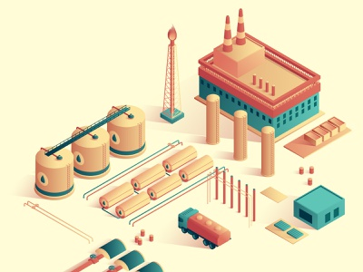 Oil industry fair oil 3d ux ui isometric design business isometric flat vector design illustration