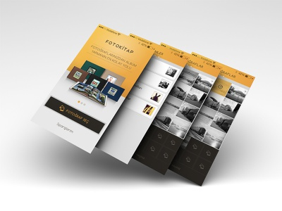 Photobook Mini App. photobook create album photos select