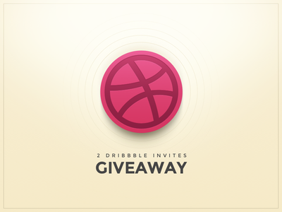 Dribbble Invites Giveaway prospect giveaway ball invitation invite dribbble