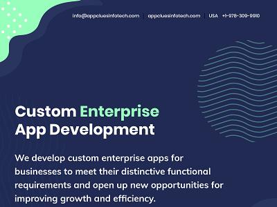Custom Enterprise Mobile App Development Company in USA enterprise app development
