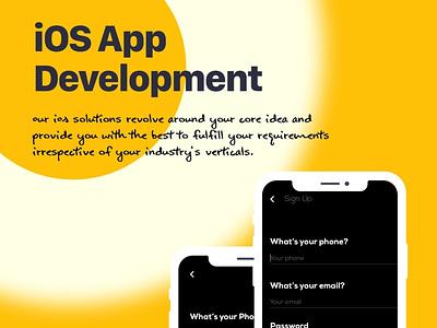 Professional iOS Mobile App Development Company in USA ios app development services