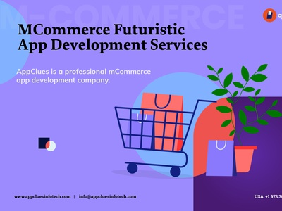 Best M-Commerce Futuristic App Development Services in USA