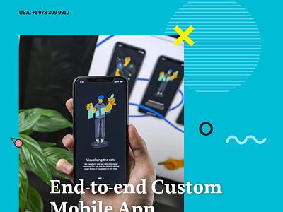 Custom Mobile App Development Solution Provider in USA