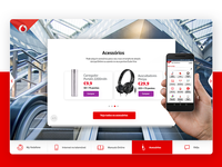 Vodafone | Start&Go // WIP • UI Design & UX