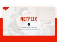 Vodafone & Netflix • UI Design & UX