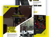 Yorn • UI Design & UX