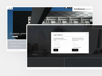 Archinews Website • UI Design & UX